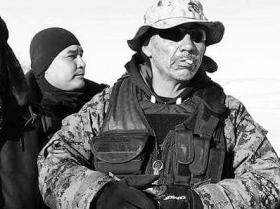 AngryBird with fellow Akicita in the NoDAPL camps
