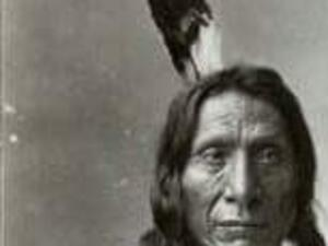 Rattler's grandfather, Mahpiya Luta, Chief Red Cloud